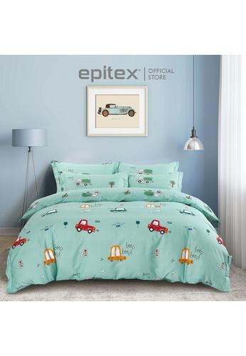 Epitex Epitex CK2049 900TC Cotton Fitted Sheet Set - Bedsheet Set - Bedding Set (w/o quilt cover) 78C35HL419CE7FGS_1