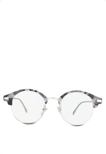 Bernerd 半框眼睛, zalora 順豐飾品配件, 眼鏡