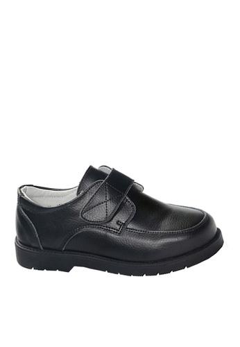 Twenty Eight Shoes 黑色 VANSA 真皮學生鞋   VSK-D60615 9A6F8KS67EB39FGS_1