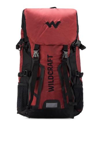 Traya zalora 手錶雙扣環登山後背包, 包, 旅行背包