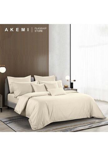 AKEMI white AKEMI Cotton Select Joyous - Lincoln Soy White (Quilt Cover Set). 78126HLB3057DAGS_1