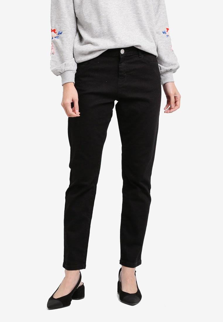 Black Short Straight Dorothy Jeans Perkins fYFnWz5v