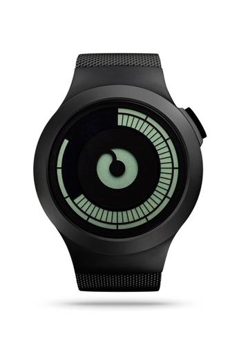 ZIIIRO black Saturn Black Watch BD136AC182C1BBGS_1