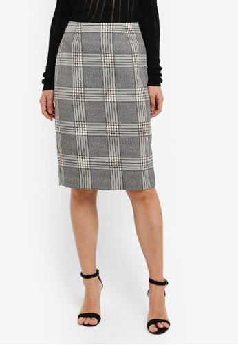 ZALORA black Pencil Skirt 698BAAA10B950AGS_1