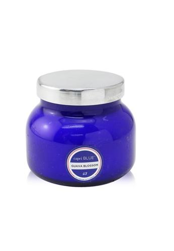 Capri Blue CAPRI BLUE - Blue Jar Candle - Guava Blossom 226g/8oz E8D29HLBA54CA7GS_1