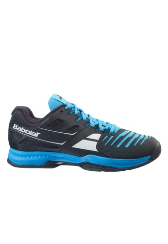 Babolat black and blue SFX 2 All Court Men's Tennis Shoes BA220SH10VIFPH_1