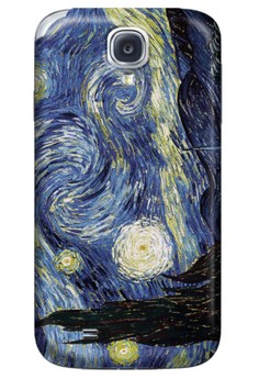 Starry Night Matte Hard Case for Samsung Galaxy S4