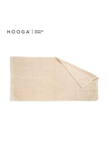 HOOGA beige Hooga Bath Towel Cornise (Bundle of 2) 8D669HL78831A7GS_1