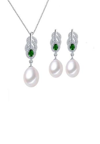 ADORA multi Silver Drop Pearl Set 2623FAC7C10B4AGS_1