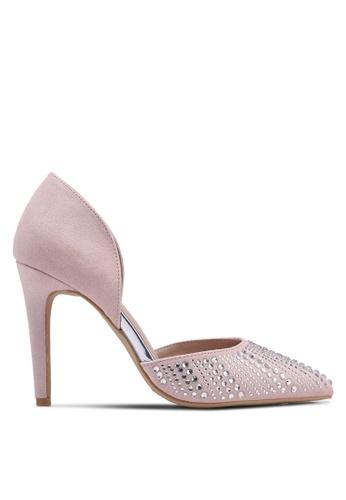 Dorothy Perkins pink Nude Showcase Sax Court Heels 33C93SH21048DEGS_1