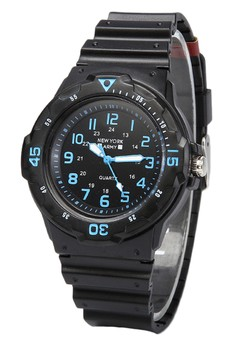 Newyork Army Unisex Rubber Strap Watch NYA-1258