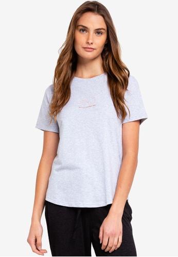 Cotton On Body grey Jersey Scoop T-Shirt 2C42BAA9BC195BGS_1