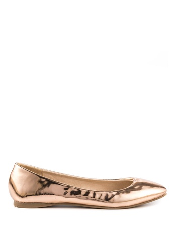 London Rag gold London Rag Womens Gold  Ballerinas SH-1102 LO704SH2VU0IHK_1