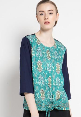 bhatara batik green Keira BH237AA02ZQFID_1