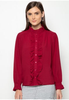 Bella Top with Ruffles