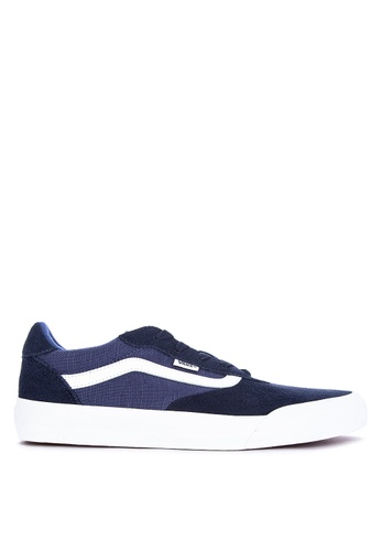 VANS blue Suede/Canvas Palomar Sneakers C4743SHE69F752GS_1