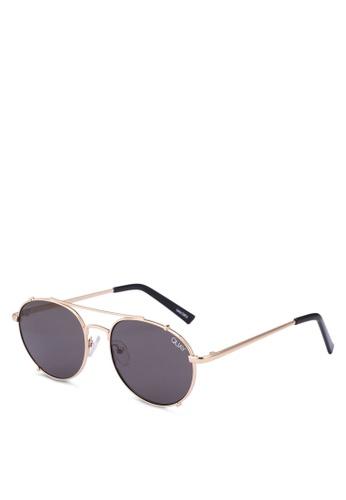 Quay Australia gold LITTLE J Sunglasses 52DDEGL8E5D3E4GS_1
