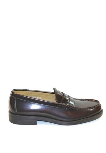 HARUTA brown Traditional Loafer-MEN-6550 4AECESHA588B83GS_1