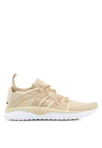 Puma brown and beige Tsugi Blaze Evoknit Shoes PU549SH0SWDSMY_1