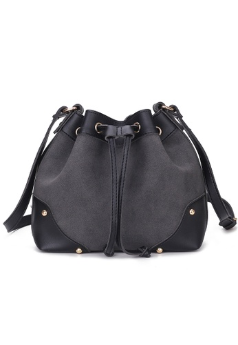 Lara black Women Solid Tone Bucket Bag - Black D03C3ACCAC57FDGS_1