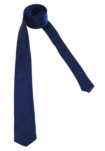 Classic Plain Slim Tie