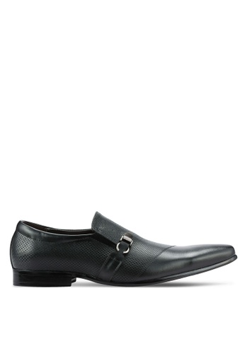 Frank Williams black Leather Dress Shoes FR169SH0RE6FMY_1