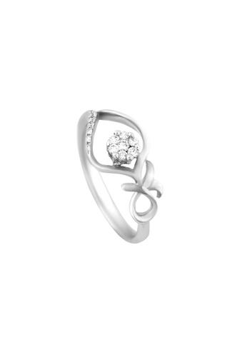 TOMEI white TOMEI Revelry in Ravishing Sparks Ring, Diamond White Gold 375 (R4036V) DCFEAACB153FAEGS_1
