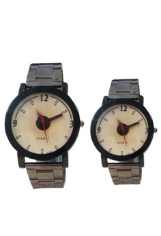 Vikec Couple Stainless Watch