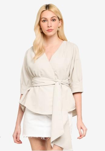 JEANASIS beige Casual Woven Shirt DC678AA2252B99GS_1