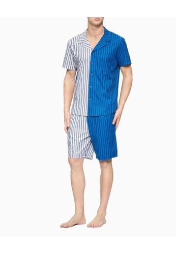 Calvin Klein Calvin Klein Men CK One Woven Sleep Shirt NM1963MIS EA5FCAA0BAEC80GS_1