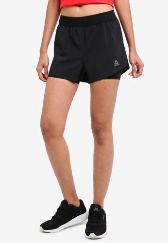 Reebok black Epic Shorts RE691AA0SW0AMY_1