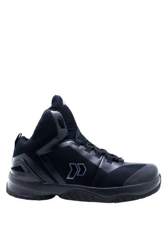 Precise black Precise Ranger Sepatu Basket - Hitam 1665BSHA2504A3GS_1