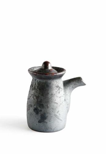 KRA Sanctuary grey Charcoal Grill Soya Pot 0A635HL855955CGS_1