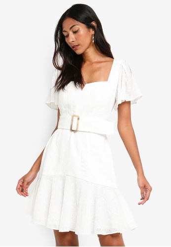 0be3f3a1268 Buy Forever New Esmerelda Embroidered Belted Dress