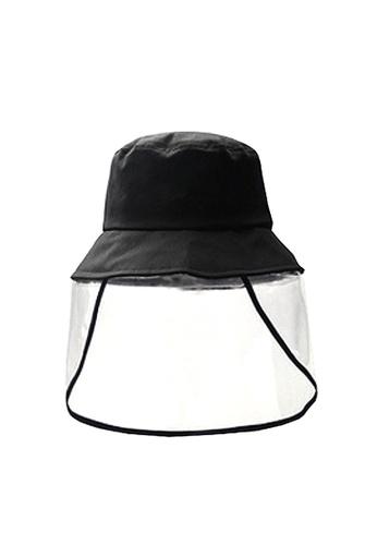 Twenty Eight Shoes black VANSA Multi-function bucket hat  VAK-H001 720C1KCC41951FGS_1