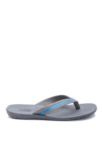 Dr. Kevin grey Dr. Kevin Men Casual Sandals 17158 - Grey DR982SH93IJMID_1