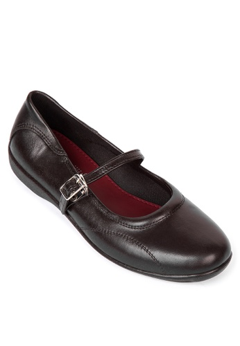Easy Soft By World Balance brown Claire L Flats 90D9DSHA77996BGS_1