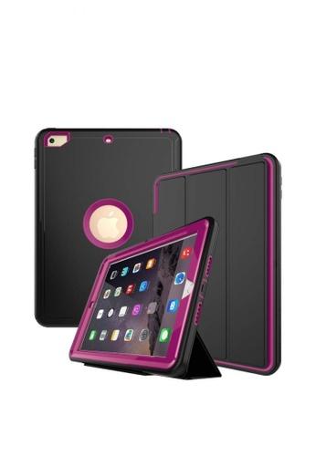 "MobileHub black iPad 2017 (9.7"") Extreme Hybrid Shockproof Case (Black/Pink) 02CB5AC39CAA56GS_1"