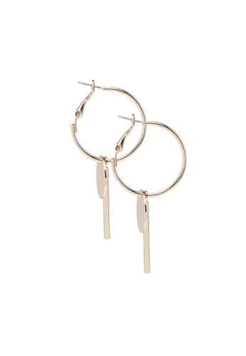 Call It Spring gold Bedle Earrings 739E4ACDC3E0A8GS_1
