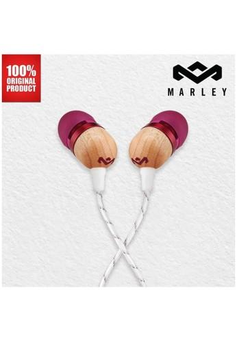 Marley multi Earphone Wired Original Marley Smile Jamaicaa - Purple BCC52ESB26318EGS_1