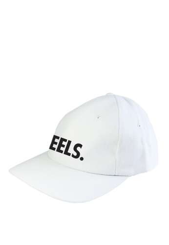 HYPE MNL white Feels Baseball Cap B0240ACE78F506GS_1