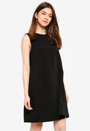Pieces black Tiffany Sleeveless Dress 521EFAA529E274GS_1