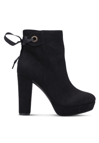 Miss KG black Sheree Suede Ankle Boots MI302SH0RTBYMY_1