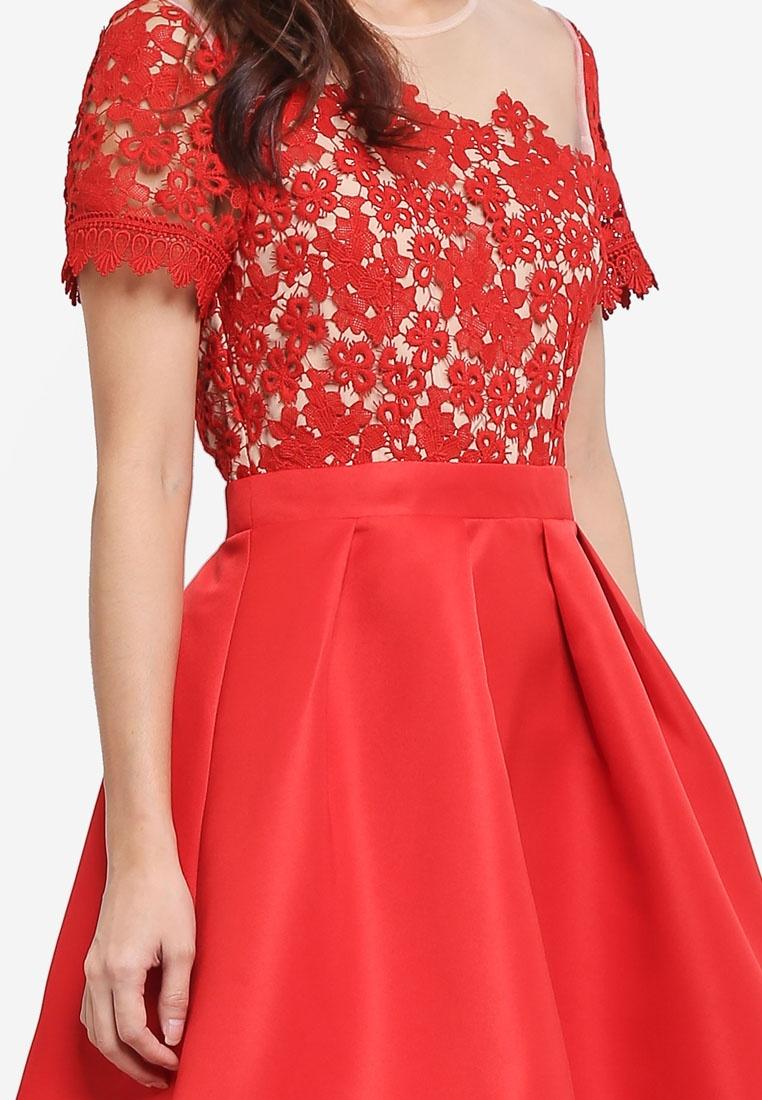 Mini Little Cayenne Trim With Dress Lace Mistress p6qFRw