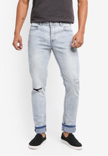 Factorie 藍色 The Bandit Jeans 0CEC5AA0751104GS_1