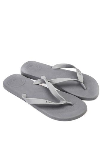 Dupe grey Revolution Flip Flops DU626SH27VUYPH_1
