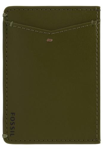 Fossil green Joshua Card Case ML4461376 7A74DAC5B4BC73GS_1
