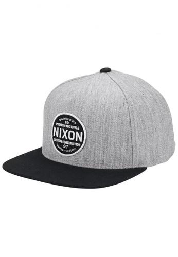 Nixon Nixon - Lazaro 110 Snapback Black NI855AC61EJASG_1