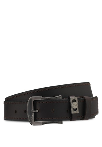 Playboy brown Playboy 40Mm Faux Leather Belt PL371AC0SMBSMY_1