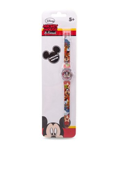 Disney Mickey Mouse & Friends Unisex Plastic Strap Watch MICKEY-SA-104